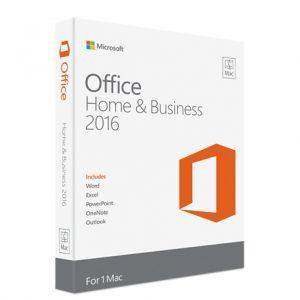 Microsoft Office 2016 hogar y negocios para Mac