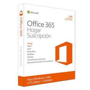 Office 365 Hogar 5 usuarios